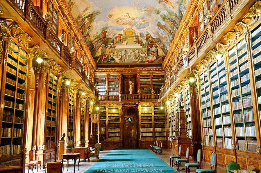 Strahov Monastery - Philosophical Hall