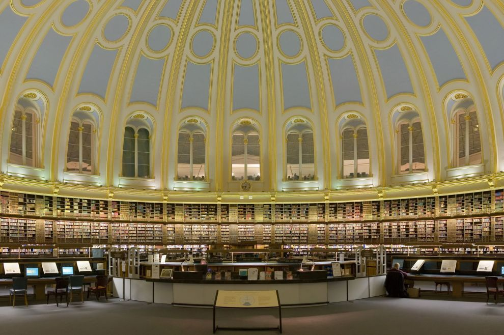 The British Museum Reading Room